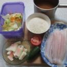 510円の夕食(魚)