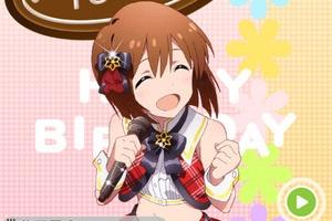 【グリマス】雪歩誕生日おめでとう!