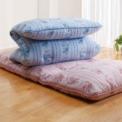 マットレス要らずの敷布団が2色セットで登場!床つき…