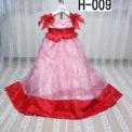 赤のゴージャスドレス(3歳)4500円 H-009