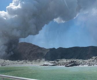 【ニュージーランド】火山島が噴火 直前に噴火口の内側を歩く観光客の姿 複数行方不明 負傷者も
