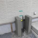 『ちょっとだけ工夫をした外にある立水栓』の画像