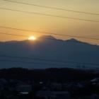 『MILTOL200mmF4による10/31ダイヤモンド富士 2020/11/01』の画像
