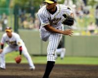 【阪神】スアレスが154キロ!移籍初登板で連続三振!!