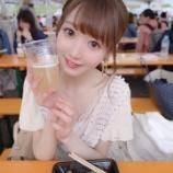 『[イコラブ] 大谷映美里「(サムサム木村美咲さんと)肉フェス行ってきました、フルーツビール飲んじゃった〜」【みりにゃ】』の画像