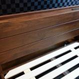『イマダのウォールナット材のベッドフレーム・レジット・SDが入荷』の画像