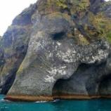 『ゾウさん岩』の画像