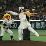『【乃木坂46】生駒ちゃん 子犬姿で始球式!ノーバン投球ならずも『ギガ120点です』』の画像