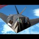 """【動画】 伝説のステルス機 スカンク・ワークスが作った世界初のステルス戦闘機""""F-117ナイトホーク""""とは?"""