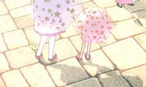 キラキラ星傘の夜光の星が可愛い☆☆☆☆