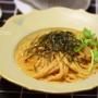 【レシピ】雲丹クリームパスタ(←包丁&まな板要らず)