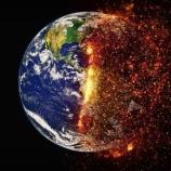 『地球温暖化は気候変動の影響で地球の自転軸がズレてしまったことが原因』の画像