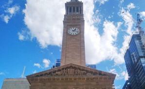 ブリズベン市庁舎の時計塔ツアー
