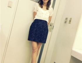 優木まおみ、衣装前後逆で『情報ライブ ミヤネ屋』に生出演ww