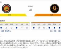 【虎実況】阪神 対 巨人 オープン戦(甲子園)[3/8]13:00~