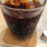 『【神戸にしむら珈琲店】ハーバーランド店で加糖アイスコーヒー』の画像