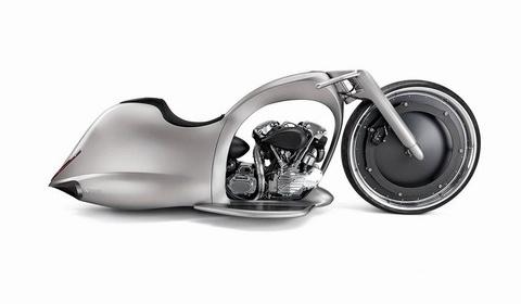 """近未来のコンセプトバイクの形が""""アレ""""に似ていると話題に 【画像アリ】"""