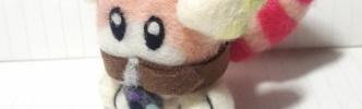 【けものフレンズ】ラッキービーストⅢ型の羊毛フェルト