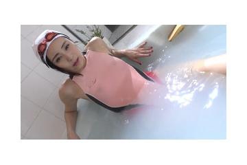 星野璃々のスク水から透ける乳首 210730