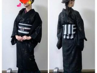 夫婦で着物で昭和町へ 町屋やカフェや神社巡り