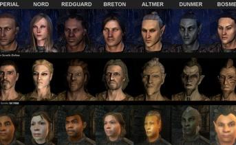 『The Elder Scrolls』シリーズの種族の進化の歴史