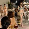 【動画】ビアガーデンで水着ファッションショー そごう神戸店