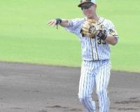 【朗報】阪神・糸原 術後初の二塁ノックでミスなし「感覚は最高。守備はもう完全にいける」