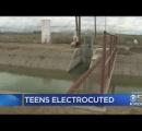 水路に落ちた犬を救おうとして水に入った少年2人が感電死