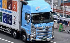 SDGsのラッピングトラック