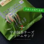 今日のおやつ|セブンの新商品「伊藤久右衛門 監修 宇治抹茶チーズクリームサンド」