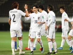 W杯予選【日本代表 vs モンゴル】前半終了!日本の猛攻!前半だけで5得点!5−0で折り返す!!