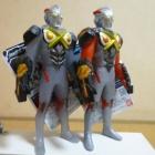『ウルトラヒーローX 06 ウルトラマンエックス(ゼットンアーマー) / サイバーカードセットVol.03 レビューらしきもの』の画像