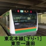 『東北本線 車窓[下り・1]東京→蓮田』の画像