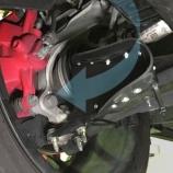 『ブレーキ冷却用導風板 Extended by maniacs の装着方法』の画像