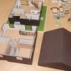 3Dプリント最近の実績(住宅カットモデル、太陽光発電)