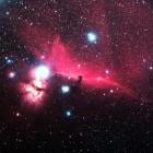 『オリオン座の馬頭星雲』の画像