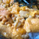 『【北海道ひとり旅】羅臼町 知床食堂『9月中旬にウニ丼』』の画像