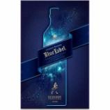 『【数量限定】贈り物に最適「ジョニーウォーカー ブルーラベル グラスオンパック 2021」』の画像