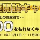 『商品先物ビギナーさんからOK【北辰物産】で3000円のキャッシュバック』の画像