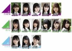 【坂道研修生】乃木坂46・欅坂46・日向坂46に配属されたメンバー一覧※画像あり