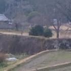 『山すぐ近くの地黄城跡』の画像