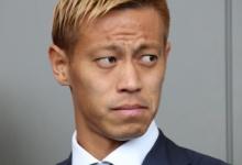 本田圭佑、「きよきよしい」をTwitterで触れる
