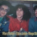 『サー・エルトン、故・Mボラン&R・スター』の画像