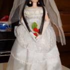 『ウェディングドレスを着たREINA』の画像