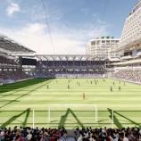 『【長崎】ジャパネットHDが新スタジアムの進捗について発表‼ 日本一ピッチに近い観戦環境&プレミアスタイルのチームベンチ』の画像