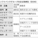 『ソフトバンク(9984)孫氏の裏に柳井氏あり!スプリント経営統合を振り返る』の画像