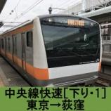 『中央線快速 車窓[下り・1]東京→荻窪』の画像