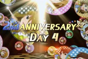 【ミリシタ】2nd ANNIVERSARY DAY4!本日は杏奈、やよい、志保、美希!