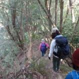 『地図とコンパス&岩場歩きの訓練』の画像