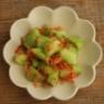 簡単副菜・きゅうりと桜エビのさっぱり和え